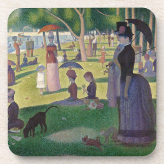 GEORGE SEURAT - A  sunday afternoon 1884 Coaster