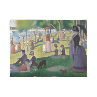 GEORGE SEURAT - A  sunday afternoon 1884 Doormat