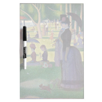 GEORGE SEURAT - A  sunday afternoon 1884 Dry Erase Board