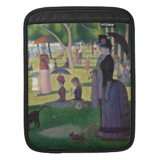 GEORGE SEURAT - A  sunday afternoon 1884 iPad Sleeve