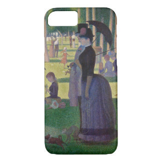 GEORGE SEURAT - A  sunday afternoon 1884 iPhone 8/7 Case
