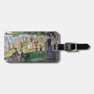 GEORGE SEURAT - A  sunday afternoon 1884 Luggage Tag