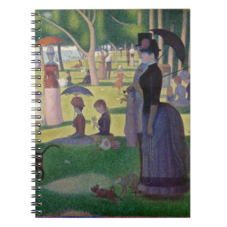 GEORGE SEURAT - A  sunday afternoon 1884 Notebook
