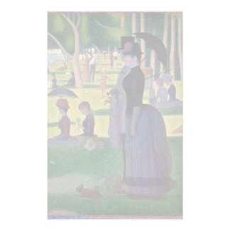 GEORGE SEURAT - A  sunday afternoon 1884 Stationery