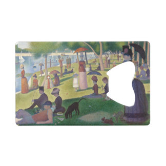 GEORGE SEURAT - A  sunday afternoon 1884 Wallet Bottle Opener