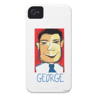 George Sketch iPhone 4 Case-Mate Case