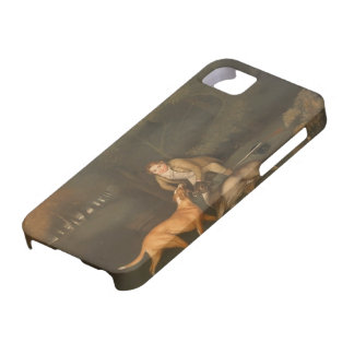 George Stubbs- Freeman With a Dying Doe and Hound iPhone 5 Cover