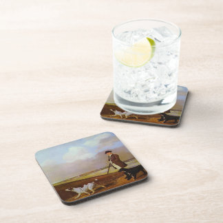 George Stubbs-John Nelthorpe Shooting with Dogs Coaster