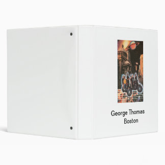 George Thomas Boston Vinyl Binder