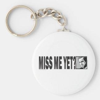 George W Bush Basic Round Button Keychain