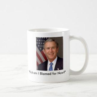 George W. Bush Basic White Mug