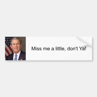 George W. Bush Bumper Sticker