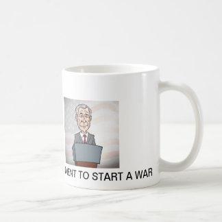 George w Bush Classic White Coffee Mug
