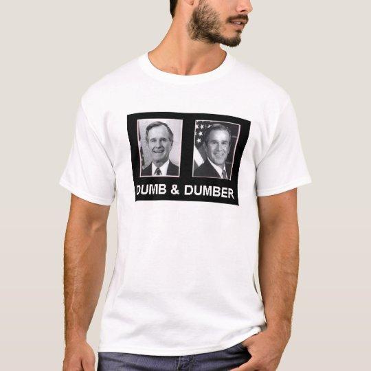 George-W-Bush---Dumb-Dumber T-Shirt
