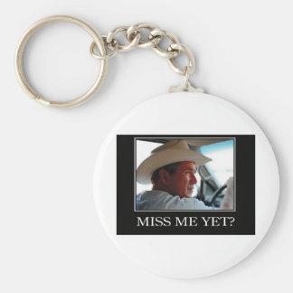 George W Bush - Hope and Change Basic Round Button Keychain