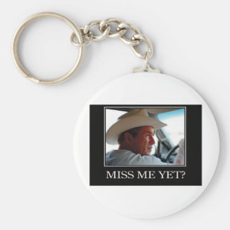 George W Bush - Hope and Change Basic Round Button Keychain