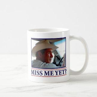 George W Bush Miss Me Yet Coffee Mug