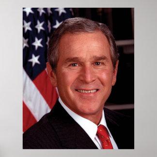 George W Bush Poster