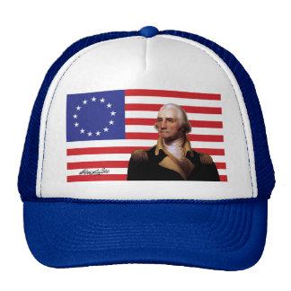George Washington & 13-Star U.S. Flag Trucker Hat