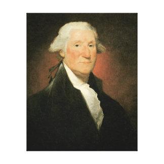 George Washington 1795 Stretched Canvas Prints