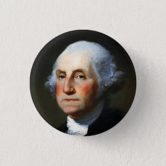 George Washington 1 Inch Round Button