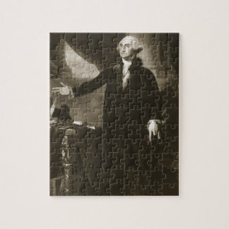 George Washington, 1st President of the United Sta Jigsaw Puzzle