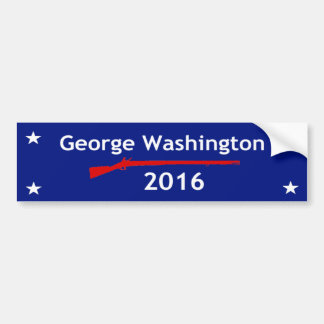 George Washington 2016 Bumper Sticker