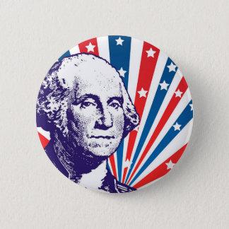 George Washington 2 Inch Round Button