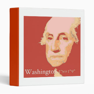 George Washington 3 Ring Binder