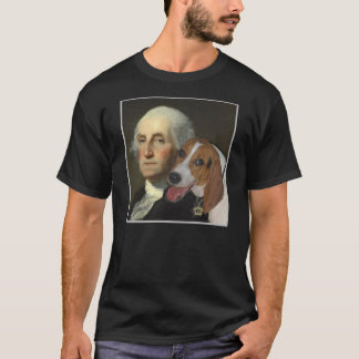 George Washington and his foxhound T-Shirt