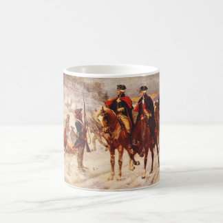 George Washington and Lafayette at Valley Forge Coffee Mug
