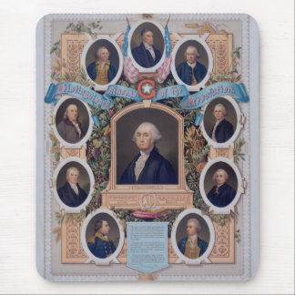 George Washington and The Masons Of The Revolution Mouse Pad