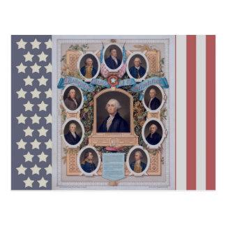 George Washington and The Masons Of The Revolution Postcard