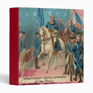 George Washington and Troops Binder