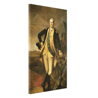 George Washington at Princeton, 1779 Canvas Print