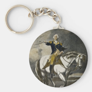 George Washington at Trenton Key Chain