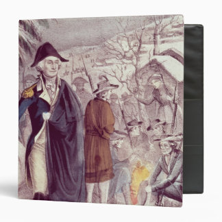 George Washington at Valley Forge Vinyl Binder