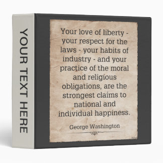 George Washington Binders