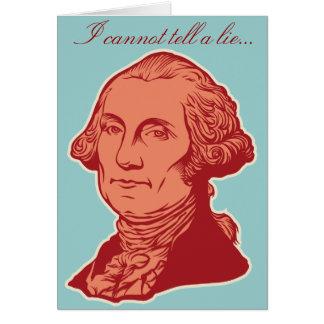 George Washington Birthday Card