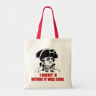 George Washington Brexit 1776 EU Flag Sunglasses Tote Bag