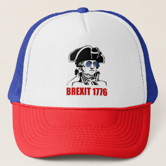 George Washington Brexit 1776 EU Flag Sunglasses Trucker Hat