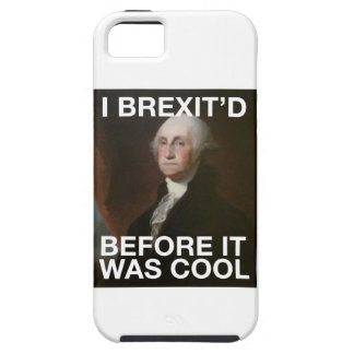 George Washington Brexit'd Before it was Cool iPhone 5 Case