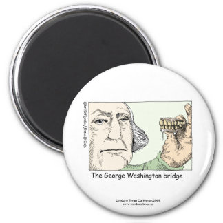 George Washington Bridge Funny Novelty Magnet