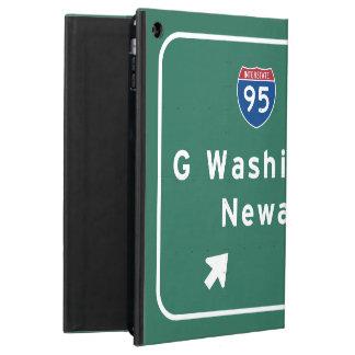 George Washington Bridge Interstate I-95 Newark NJ iPad Air Case