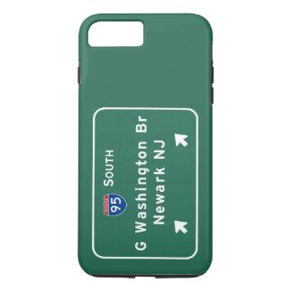 George Washington Bridge Interstate I-95 Newark NJ iPhone 7 Plus Case