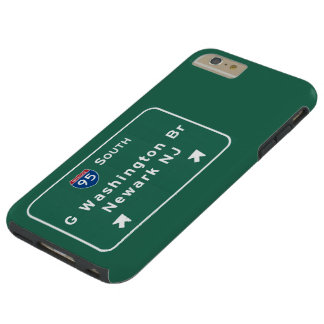 George Washington Bridge Interstate I-95 Newark NJ Tough iPhone 6 Plus Case