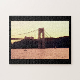George Washington Bridge Jigsaw Puzzle