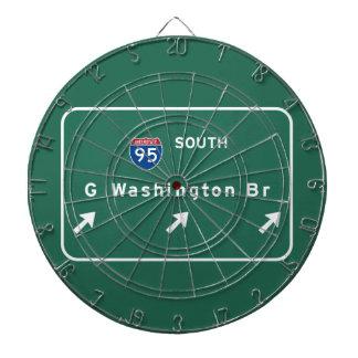 George Washington Bridge NYC New York City NY Dart Boards