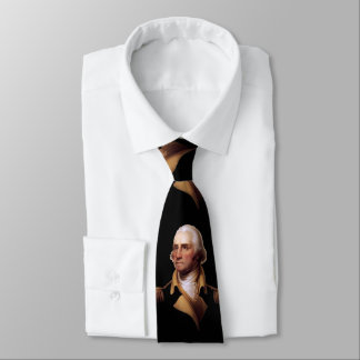 George Washington by Rembrandt Peale - Early 1800s Tie
