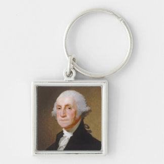 George Washington, c.1821 (oil on canvas) Keychain